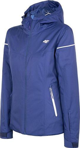4f Kurtka narciarska damska H4Z19-KUDN070 niebieska r. M