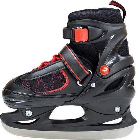 NILS Extreme Łyżwy hokejowe Nils Extreme NH7103 A black/red rozm. S 30-33 uniwersalny