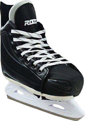 ROCES Łyżwy hokejowe Roces Face Off czarno białe 450636 001 28-31