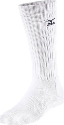 Mizuno Skarpety Mizuno Volley Socks Long białe L / 41-43