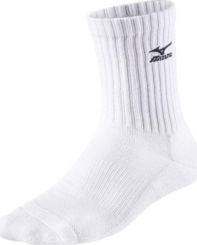 Mizuno Skarpety Mizuno Volley Socks Medium białe M / 38-40