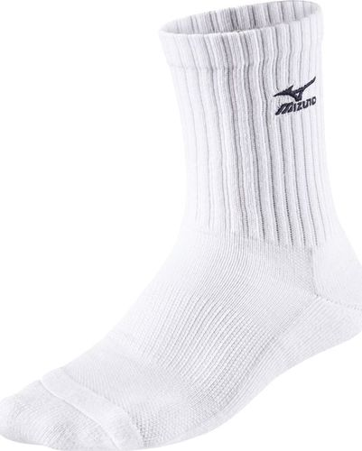 Mizuno Skarpety Mizuno Volley Socks Medium białe L / 41-43