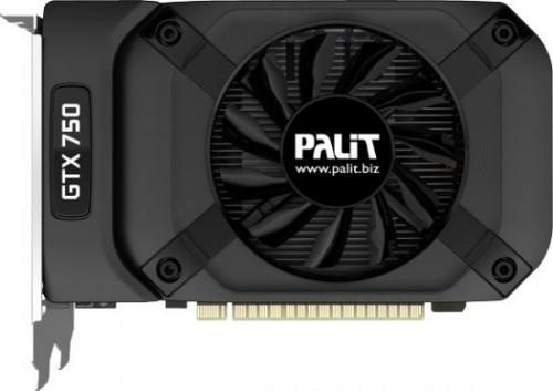 Karta graficzna Palit Karta graficzna Palit Karta graficzna Palit GeForce GTX 750 2GB GDDR5 (128Bit) DVI-D mHDMI VGA (NE5X75001341F)