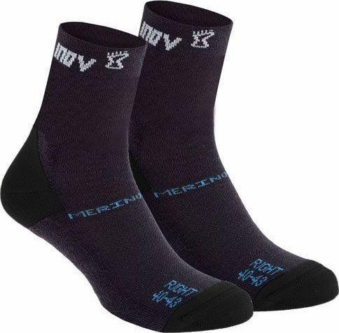 Inov-8 Skarpety inov-8 Merino Sock High - 2 pary czarne 36 - 40