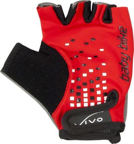 VIVO Rękawiczki rowerowe dziecięce Vivo SB-01-3169 red  XXS