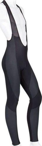Accent Spodnie ocieplane z szelkami THERMO Thermoroubaix czarne XXXL