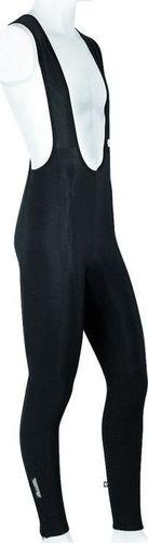 Accent Spodnie ocieplane z szelkami FORTE czarne XXL