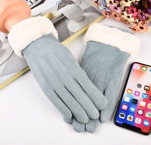Baseus Uniwersalne rękawiczki na zimę do ekranów dotykowych niebieski uniwersalny