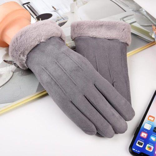 Baseus Uniwersalne rękawiczki na zimę do ekranów dotykowych szary uniwersalny