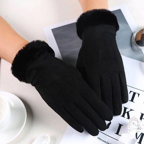Baseus Uniwersalne rękawiczki na zimę do ekranów dotykowych czarny uniwersalny