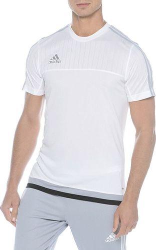 Adidas Koszulka męska Tiro 15 TRG JS biała r. S (S22309)