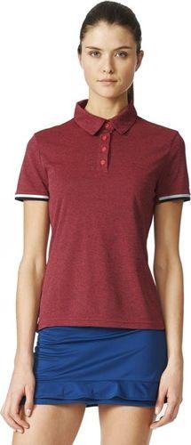 Adidas Koszulka damska Unctl Clmchpolo czerwona r. L (AP4804)
