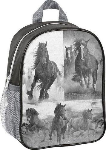 Paso Plecak dziecięcy Galopujące Konie szary (17-303HO)