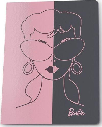 Paso PASO Zeszyt A5/60k Kratka BAM-0602 Barbie Postacie uniwersalny