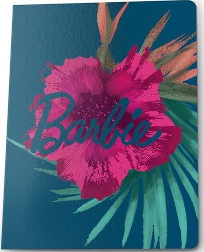 Paso PASO Zeszyt A5/60k Kratka BAI-0602 Barbie Kwiaty uniwersalny