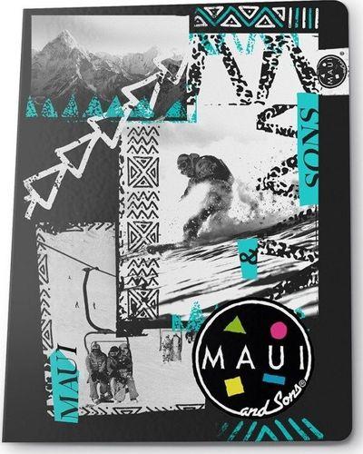 Paso PASO Zeszyt A5/60k Kratka MAUB-0602 Maui and Sons Snowboard uniwersalny