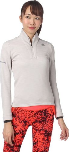 Adidas Bluza damska ND CLMHT1/2ZIP W szara r. M (AA5333)