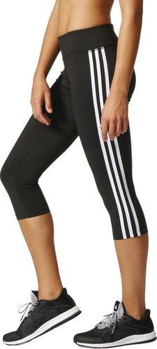 Adidas Legginsy damskie D2m 3s 3/4 Tigh czarne r. M (BQ2045)