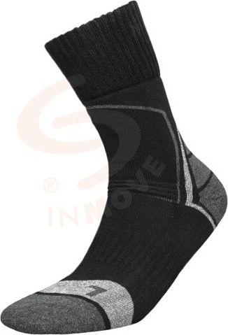 JJW Skarpety sportowe Trekking Deodorant czarno-antracytowy r. 41-43