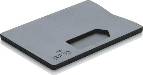 XD COLLECTION Etui na kartę z ochrona RFID Czarne uniwersalny