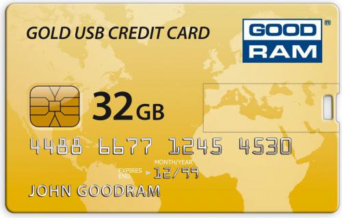Pendrive GoodRam CREDIT CARD 32GB USB2.0 (PD32GH2GRCCPR9)