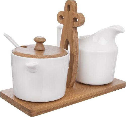 Orion Cukierniczka cukiernica + mlecznik + stojak zestaw uniwersalny