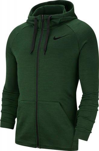 Nike Bluza męska Dry Fleece Hoodie zielona r. M (860465-375)