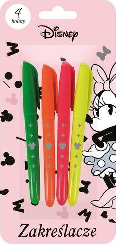 Beniamin Zakreślacz Minnie Mouse 4 kolory