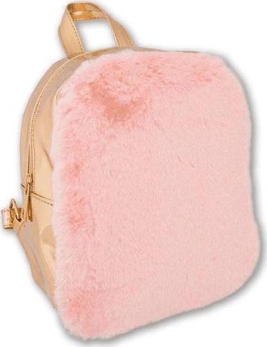 Stnux Plecak pink&gold STnux