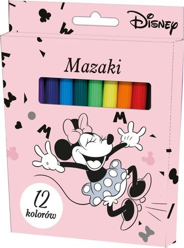 Beniamin Mazaki Minnie Mouse 12 kolorów