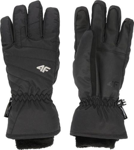 4f Rękawice narciarskie H4Z19-RED003 czarne r. XS