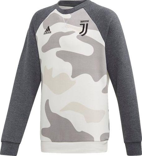 Adidas Bluza chłopięca Juventus Kids Crew szara r. 140 cm (DX9209)