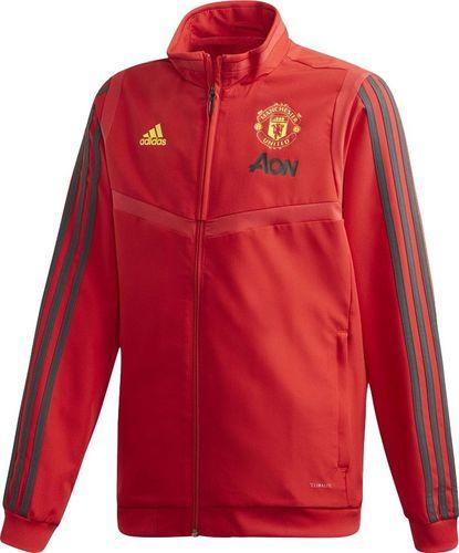 Adidas Bluza męska Manchester United Jkt Y czerwona r. 128 cm (DX9042)