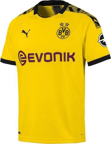 Puma Koszulka męska BVB Home Shirt Replica żółta r. M (755737 01)