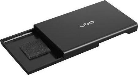 """Etui UGO Obudowa na dysk UGO Marapi SL130 USB 3.0 SATA III 2,5"""" beznarzędziowa czarna"""