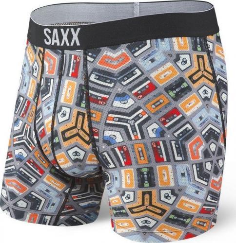 SAXX Bokserki męskie Volt Boxer Brief Analog Dream r. L