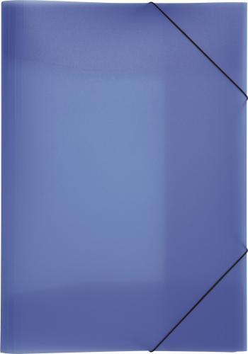 PAGNA Teczka A4 PP 3 Einschlagklappen blau