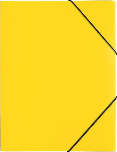 PAGNA Teczka A4 PP 3 Einschlagklappen gelb