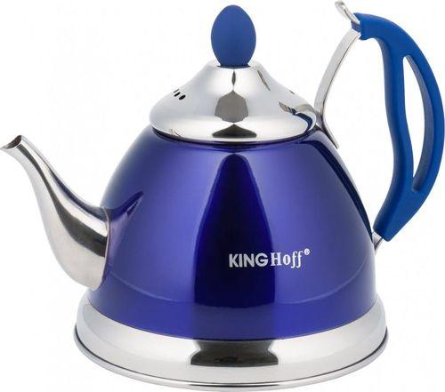 KingHoff CZAJNIK ZAPARZACZ DO HERBATY I ZIÓŁ 1.0L 4 KOLORY KINGHOFF KH-3762 (NIEBIESKI)