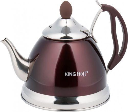 KingHoff CZAJNIK ZAPARZACZ DO HERBATY I ZIÓŁ 1.0L 4 KOLORY KINGHOFF KH-3762 (BRĄZOWY)