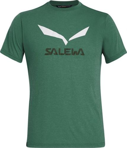 Salewa Koszulka męska SOLIDLOGO DRY M S/S TEE myrtle melange r. L