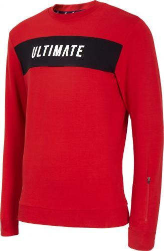 4f Bluza męska H4L20-BLM014 czerwona r. L
