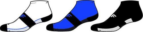 4f Skarpety męskie H4L20-SOM003 niebieskie/czarne/białe r. 39-42