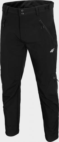 4f Spodnie męskie H4L20-SPMT001 czarne r. M