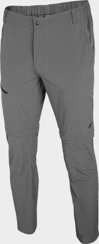 4f Spodnie męskie H4L20-SPMTR060 szare r. XL