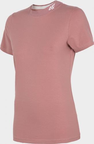 4f Koszulka damska H4L20-TSD013 różowa r. M