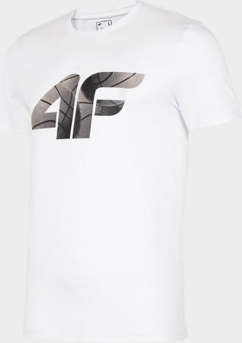 4f Koszulka męska H4L20-TSM032 biała r. XXL