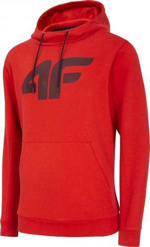 4f Bluza męska H4L20-BLM002 czerwona r. M