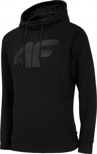 4f Bluza męska H4L20-BLM002 czarna r. L
