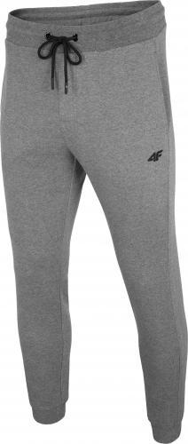 4f Spodnie męskie H4L20-SPMD001 grafitowe r. L